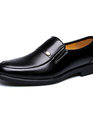Men's Shoes Office & Career/Casual Loafers Black