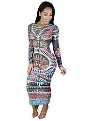 Lolita classica e tradizionale Maniche lunghe Lunghezza media Multicolore Terylene Lolita Dress