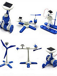 Branco / Azul Gadgets Solar Powered para Boy ABS