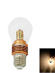1 Stück YouOKLight Dekorativ LED Kugelbirnen CA35 E26/E27 5W 400 lm 3000K K 25 SMD 2835 Warmes Weiß AC 85-265 / AC 220-240 / AC 110-130 V