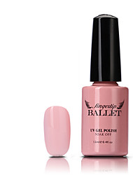 1pcs uv gel nagellak langdurige nagel gel weken-off led lamp vingertop ballet gel polish 12ml 81-90 kleuren