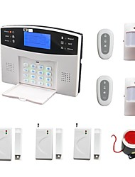 Wireless Wired Intruder Burglar LCD Voice GSM Alarm Home Alarma Security System Kit SMS Call Alarme +2 PIR 3 Door Sensor