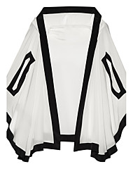 Women's Halter Cover-Up,Solid Polyester White