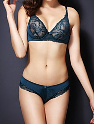 Women Sexy Push-up / Lace Bras / Underwire Bra, 5/8 cup Bras & Panties Sets