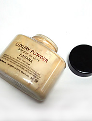 1 Powder Dry Powder Coverage / Concealer / Uneven Skin Tone / Natural / Pore-Minimizing / Breathable / Brightening Face Natural