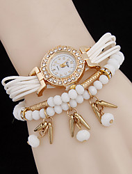 L.WEST Fashionable rivets pendant acrylic beads linked list Cool Watches Unique Watches