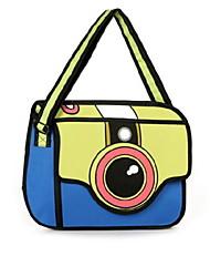 GPF 3d Personality Casual Shoulder Camera Bag Handbag Cartoon Satchel Shoulder Bag Cross Body Bag Tote