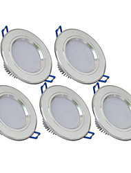 3W LED-Einbauleuchte smd 5730 240lm lm warmweiß / kaltweiß ac 85-265v Yangming 5 Stück