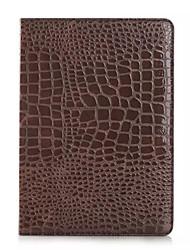 mode crocodile mince étui en cuir de haute qualité pour ipad air Smart Cover avec étui de motif alligator stand