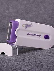 Removedor de Pelos Feminino / Unissex Rosto / Corpo / Axila / Others Elétrico Luz LED Barbeador Seco N/A others