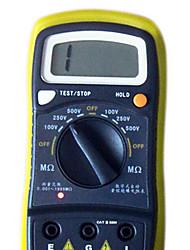 szbj BM500 jaune pour la résistance d'isolement mégohmmètre