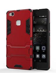 Pour Coque Huawei P9 P9 Lite P8 P8 Lite Mate 8 Antichoc Avec Support Coque Coque Arrière Coque Armure Dur Polycarbonate pour HuaweiHuawei
