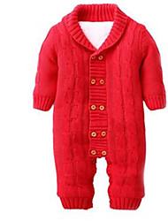 Mono Chica deAlgodón-Invierno-Rojo