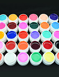 20203 China Factory Supply GDCOCO UV Color Gel Set 30 Pure Color Gel Nail Art Kit