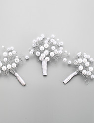 Women's / Flower Girl's Alloy / Imitation Pearl Headpiece-Wedding / Special Occasion Hair Pin 3 Pieces