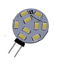 5W G4 Focos LED MR11 9 SMD 5730 360-380 lm Blanco Cálido / Blanco Fresco Decorativa DC 12 / AC 12 / AC 24 / DC 24 V 1 pieza