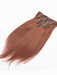 Clip in Human Hair Extensions Brazilian Hair Clip In Hair Extensions Human Hair Clip In Extension