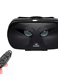 "VR BOX Virtual Reality 3D Glasses + BT Controller for 3.5~6.0"" Phones - Black"