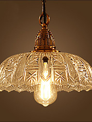 American Country Chandeliers With the Glass Chandelier