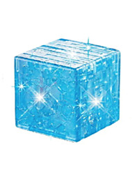Jigsaw Puzzles 3D Puzzles / Crystal Puzzles Building Blocks DIY Toys Magic Cube ABS Blue Model & Building Toy