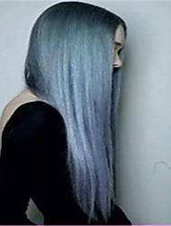 Pelo gris 3pcs / nuevas 1b recto / extensiones de cabello mucho baratas brasileñas virginales grises ombre plata sin enredos sin