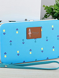 ZX Lady Multifunction Zipper Checkbook Wallet Card & ID Holder Clutch