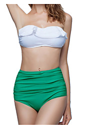 Waisted Bikini Swimsuit Cover the Belly