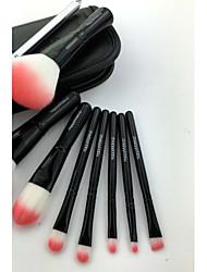 9pcs Makeup Brushes Set Professional / Travel / Portable Wood Face / Eye / Lip Brush