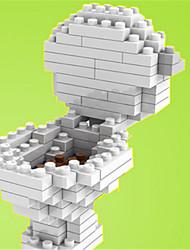 para presente Blocos de Construir Plástico Todos Cinzento Brinquedos