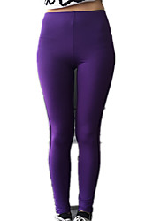 Running Pants / Bottoms Women's Breathable Yoga / Camping & Hiking / Fitness / Racing / Running Sports Purple