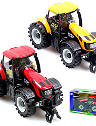 Dibang -1431 1:32 alloy big farmer front with light and music Children's toy car alloy car models (2PCS)