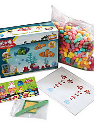 Yi Tong Department Diy Toy Building Blocks Factory Direct Corn Mimi Show Aquarium 480