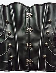 Для женщин Платье-корсет / Набор с корсетом / Большие размеры / Корсет под грудь / Классический корсет Ночное бельеСексуальные платья /