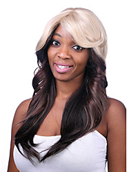 Capless Synthetic Sexy long wave Womens Synthetic Wigs Top Quality