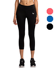 Vansydical Women's Quick Dry Yoga Bottoms Red / Black / Blue