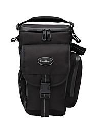 saco de SLR por um ombro à prova d'água / poeira negra prova universal