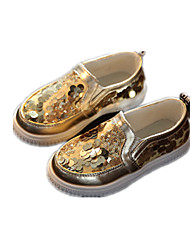 Childrens' Shoes Casual Comfort Leatherette Loafers Pink / Silver / Gold