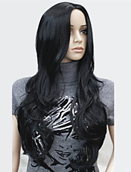 Fashon Skin Part Top Long Wavy Curly Wigs Synthetic Hair Wigs COLOUR CHOICES! 7COLORS!