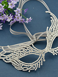 Women's Rhinestone / Alloy Headpiece-Wedding / Special Occasion Masks 1 Piece