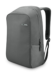 POFOKO® 14 Inch Waterproof Oxford Fabric Laptop Backpack Black/Gray