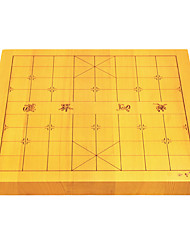 Royal St. 32 Mm Fish Wood A Two-Sided Dual-Use Chinese Chess Board Suit Go Suit Double-Sided Board (Excluding Pieces)