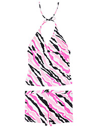 Teenager Girls Floral/Zebra Striped Summer 2pcs/set Swimsuit/Bathing Suit/Swimwear for Age 8~16Y Junior/Sinior Girls
