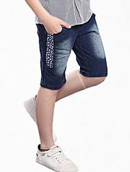 Pantalones Boy-Todas las Temporadas-Algodón-Bloques