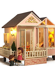 Chi Fun House Diy Hut Sweet Convention A-012 Hand-House Creative Good Gift