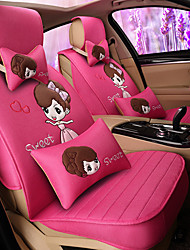 Cute Car Seat Cover Universal Fits Seat Protector Seat Covers with Pillow set