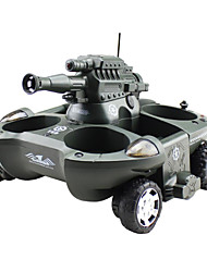Surface Simulation Remote Control Tank Vehicle Can Launch BBS Amphibious Undertakes Four Channels