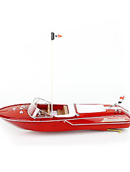 High-Speed Ship Remote Control Remote Control Boat Wood Spray Speed 20KM Simulation Package