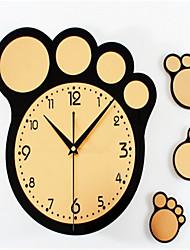 Moderne/Contemporain Autres Horloge murale,Autres Acrylique 30*30*5 Horloge