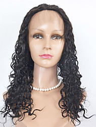 Brazilian Human Hair Lace Wigs Kinky Curl Lace Front Wigs For Women