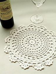 Chemins de table(Blanc / Noir,lin) -Thème de jardin / Thème floral / Thème classique Non personnalisé 2